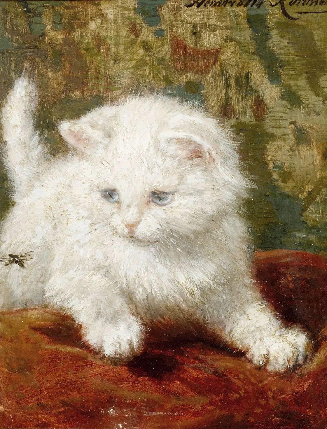 100年前她画了超多猫,姿态万千,惟妙惟肖插图165
