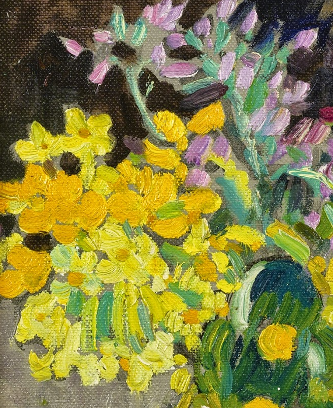 笔触粗犷,色彩令人陶醉,高清花卉作品插图2