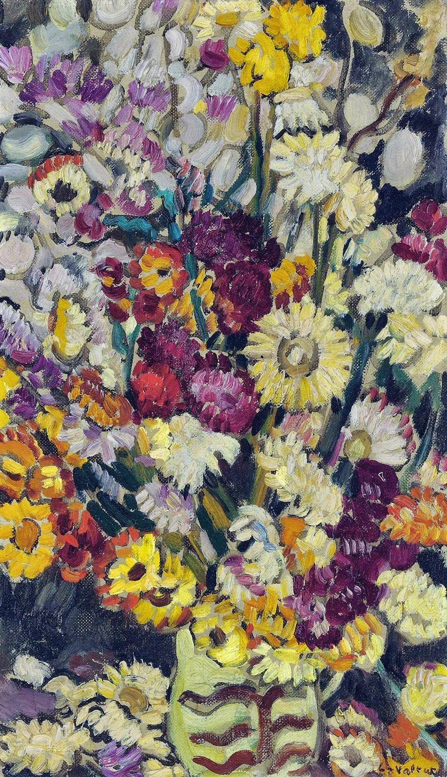 笔触粗犷,色彩令人陶醉,高清花卉作品插图8