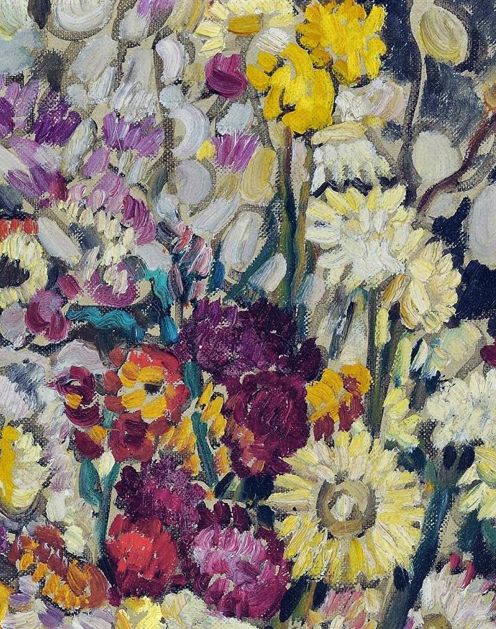 笔触粗犷,色彩令人陶醉,高清花卉作品插图9