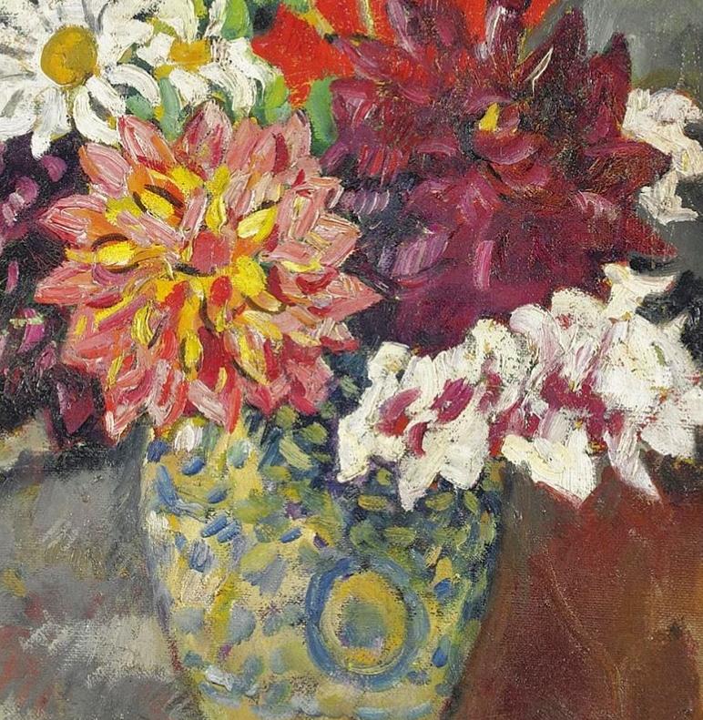 笔触粗犷,色彩令人陶醉,高清花卉作品插图21