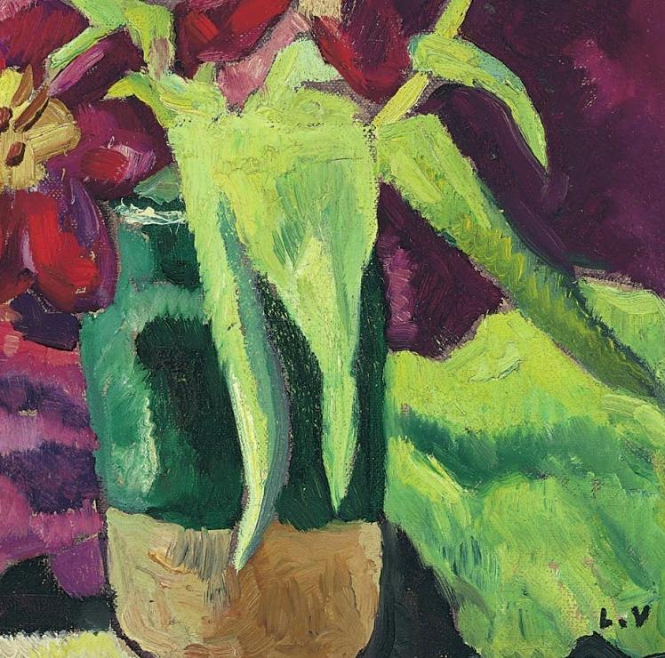 笔触粗犷,色彩令人陶醉,高清花卉作品插图24