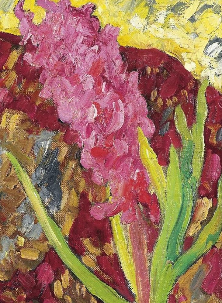 笔触粗犷,色彩令人陶醉,高清花卉作品插图26