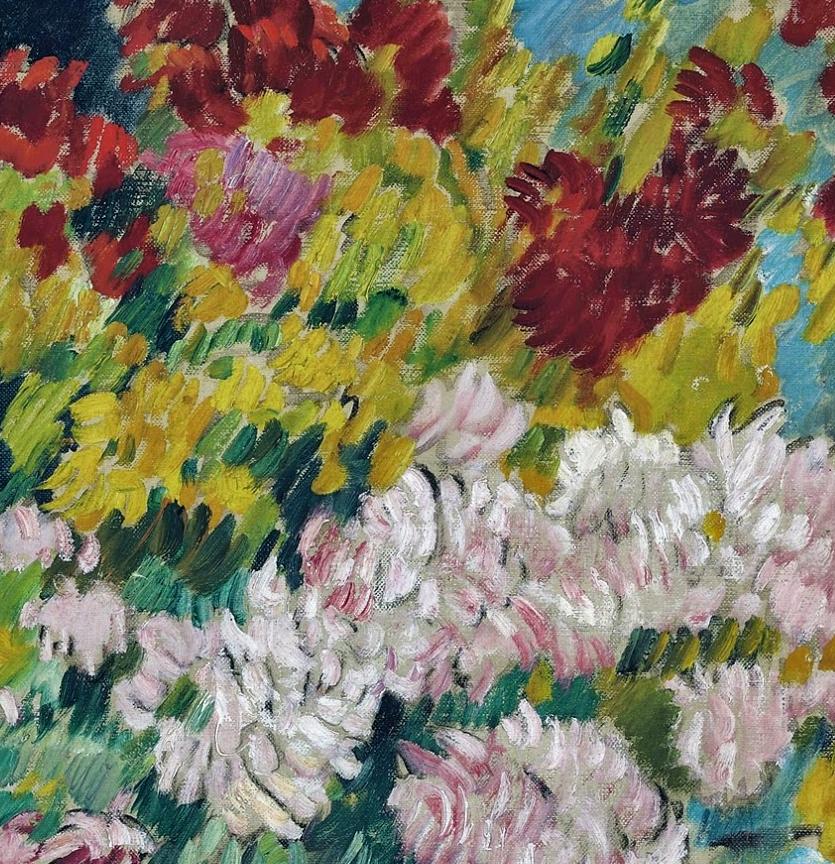 笔触粗犷,色彩令人陶醉,高清花卉作品插图28