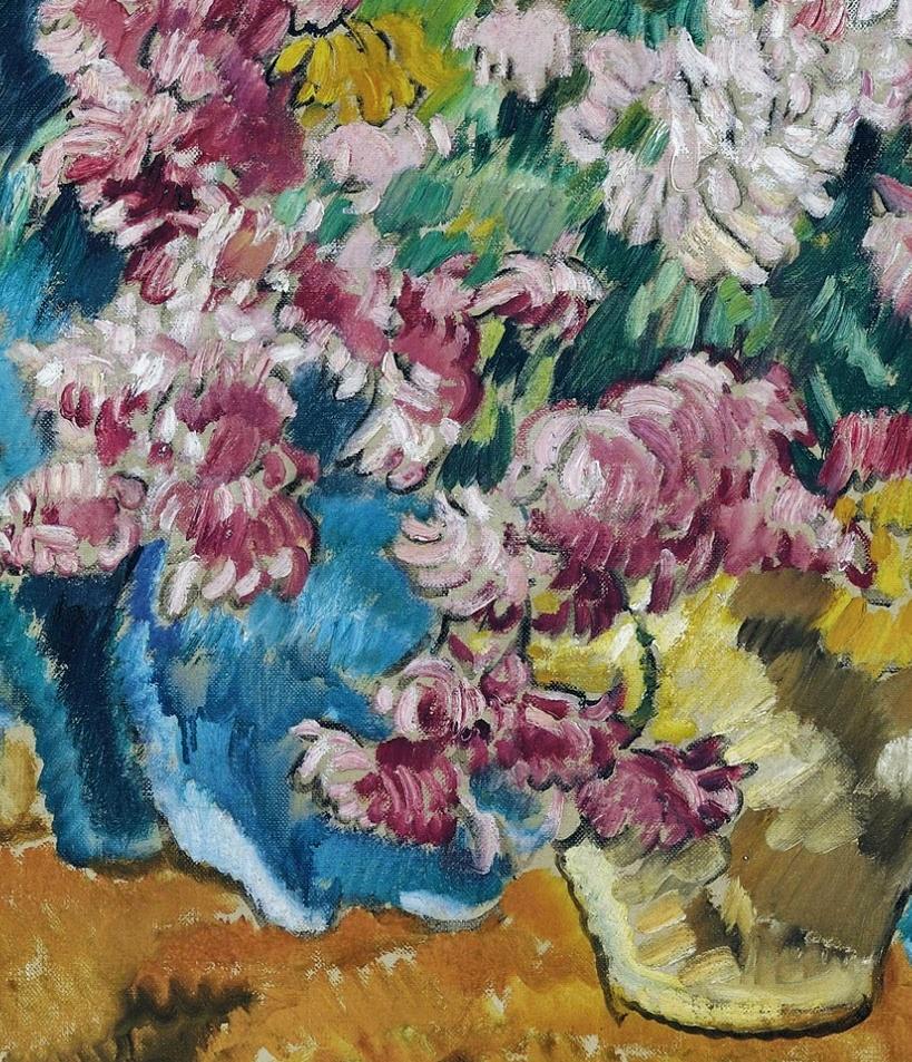 笔触粗犷,色彩令人陶醉,高清花卉作品插图29