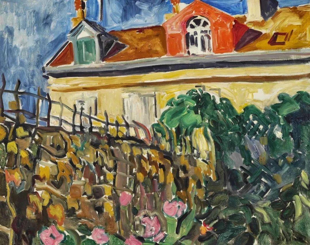 风景篇 | 内心狂野,画面却格外温柔!法国画家Louis Valtat作品插图47