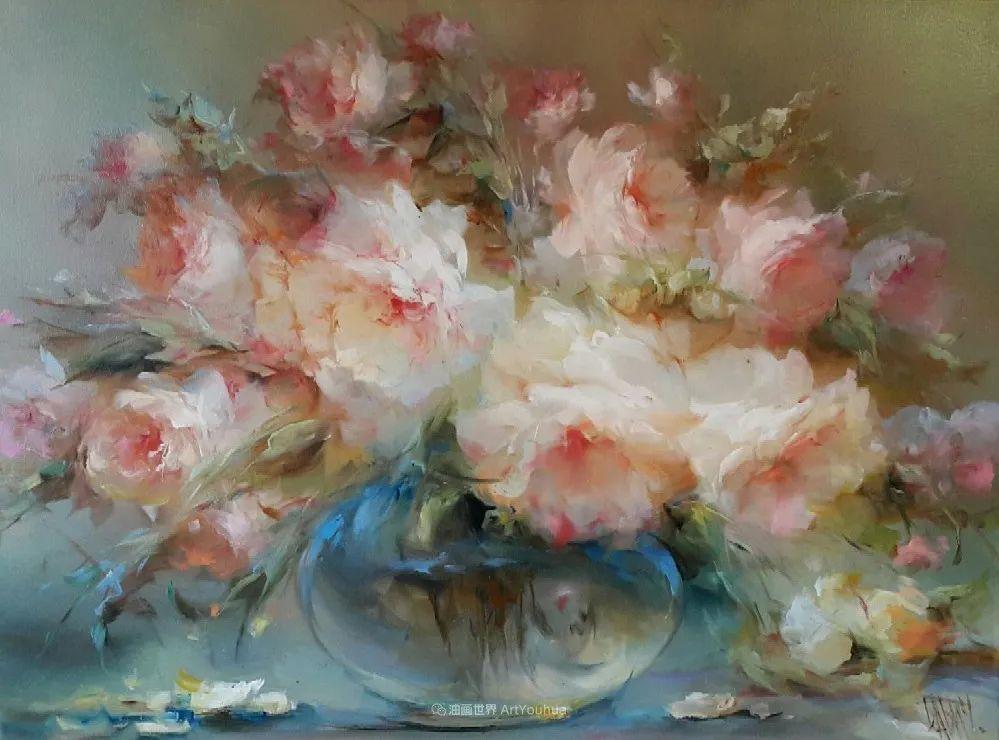 他绝对拥有绘画魔力,把花束画得如此之美插图1