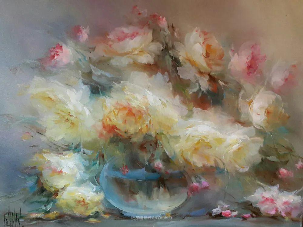 他绝对拥有绘画魔力,把花束画得如此之美插图3
