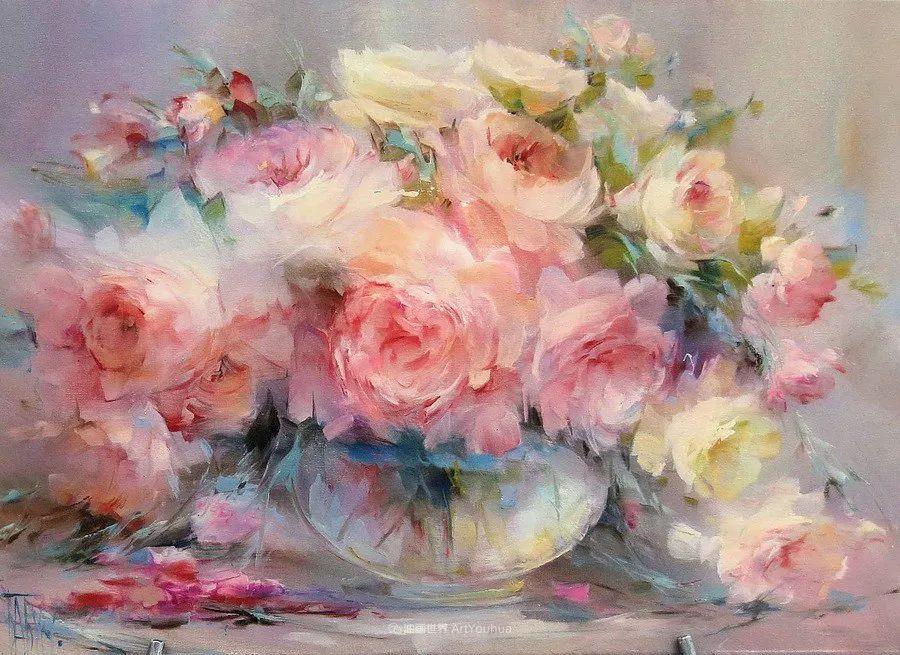 他绝对拥有绘画魔力,把花束画得如此之美插图13