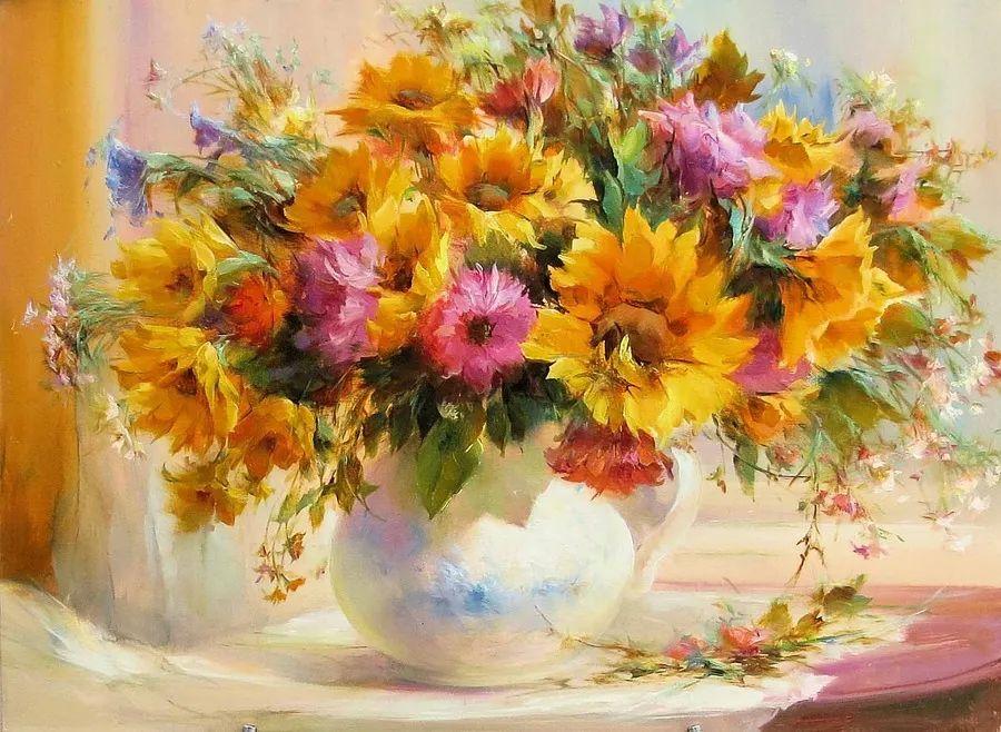 他绝对拥有绘画魔力,把花束画得如此之美插图27