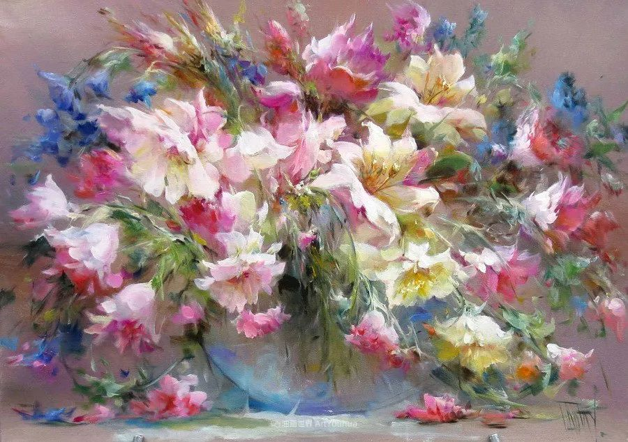 他绝对拥有绘画魔力,把花束画得如此之美插图29