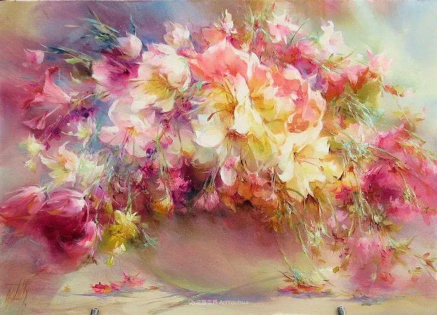 他绝对拥有绘画魔力,把花束画得如此之美插图33