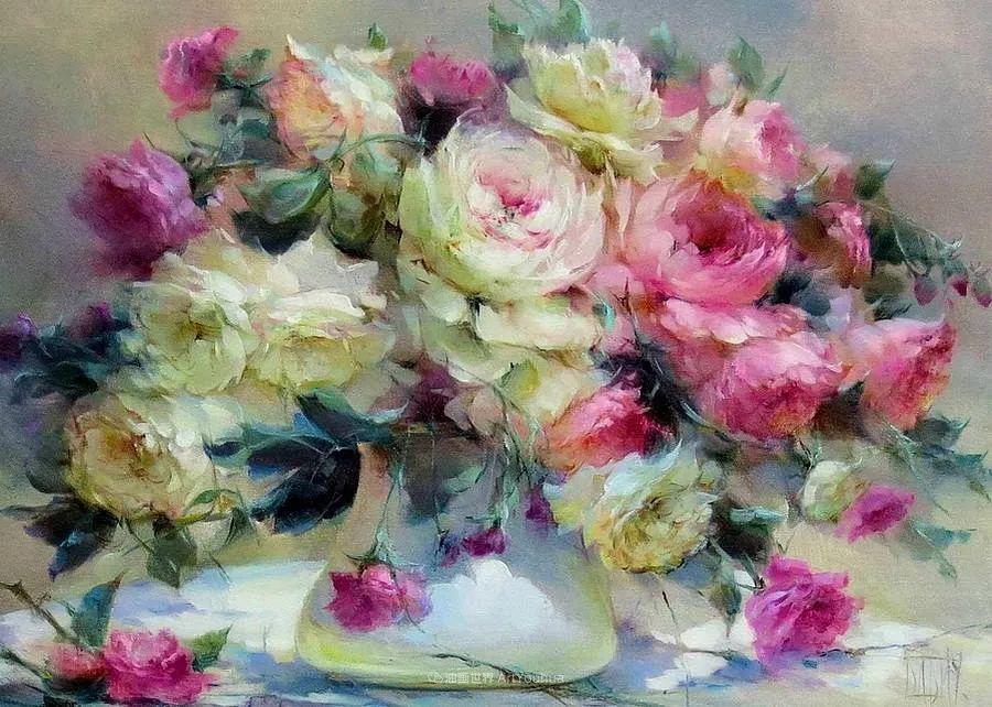 他绝对拥有绘画魔力,把花束画得如此之美插图35