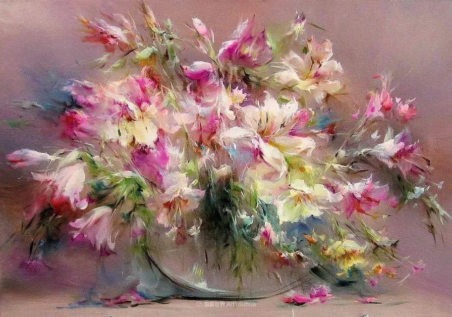 他绝对拥有绘画魔力,把花束画得如此之美插图37