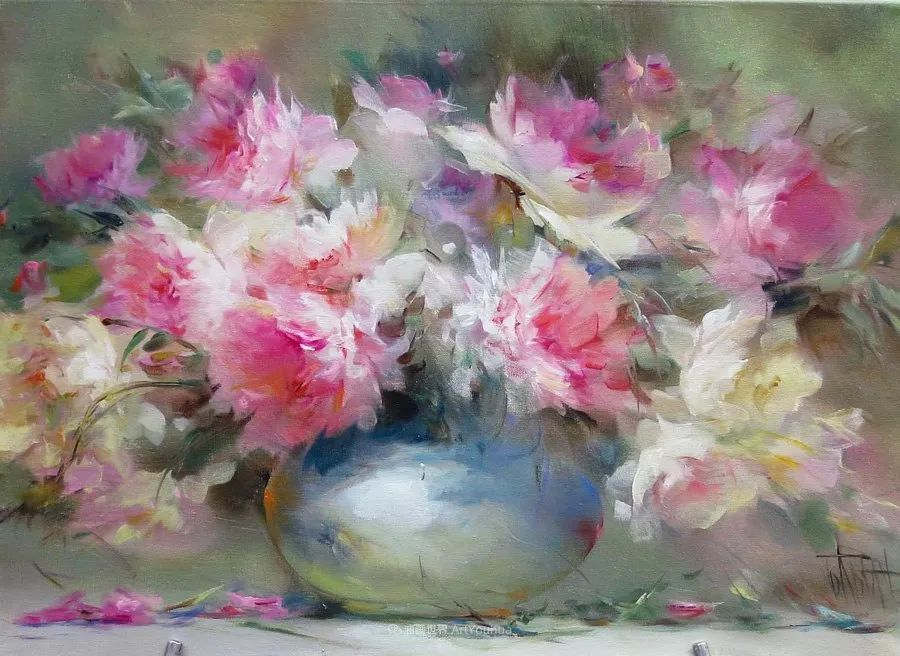 他绝对拥有绘画魔力,把花束画得如此之美插图41