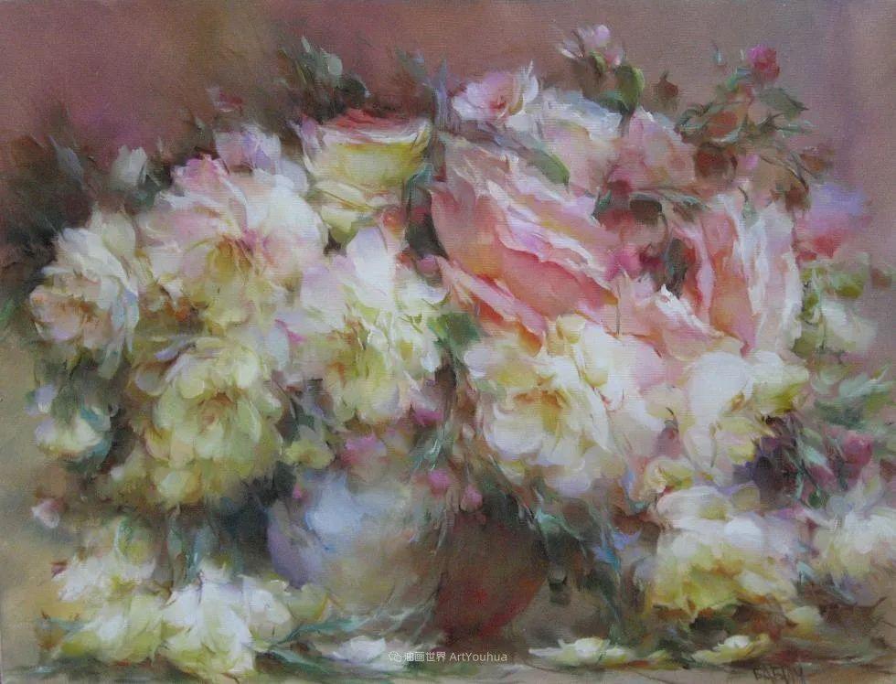他绝对拥有绘画魔力,把花束画得如此之美插图47