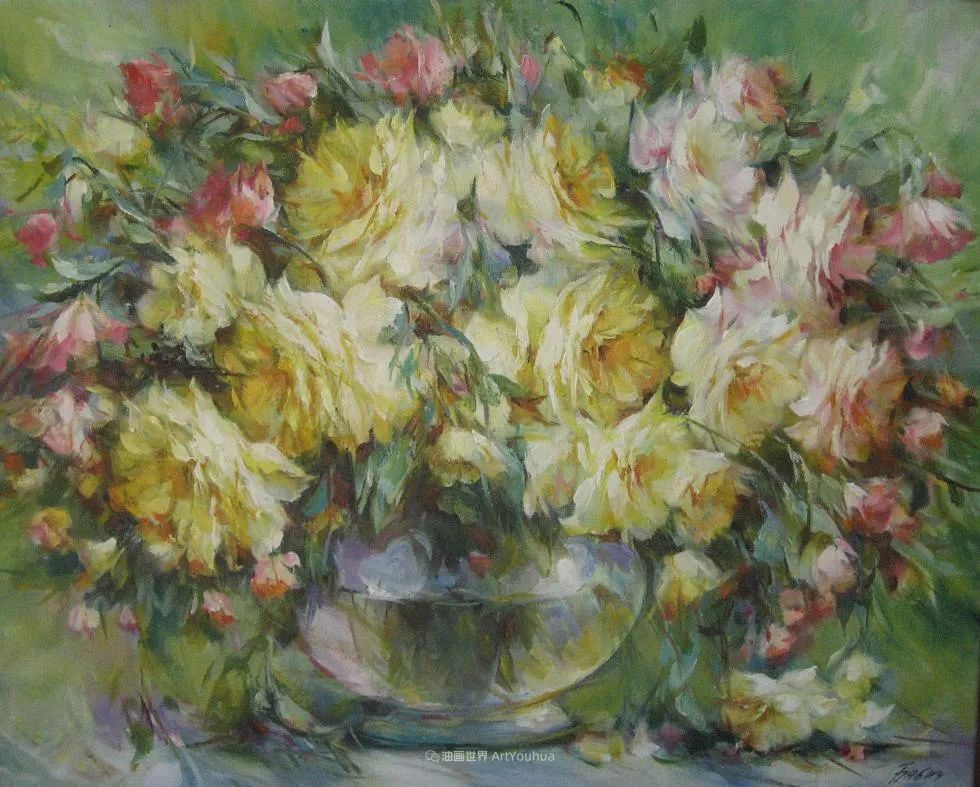 他绝对拥有绘画魔力,把花束画得如此之美插图51