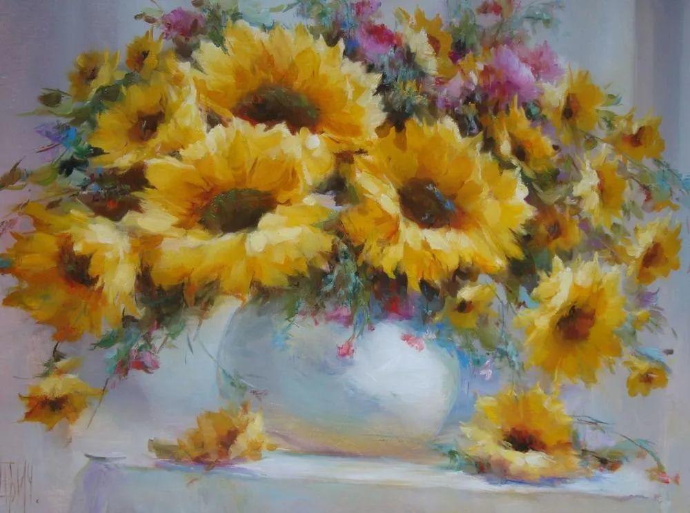 他绝对拥有绘画魔力,把花束画得如此之美插图63