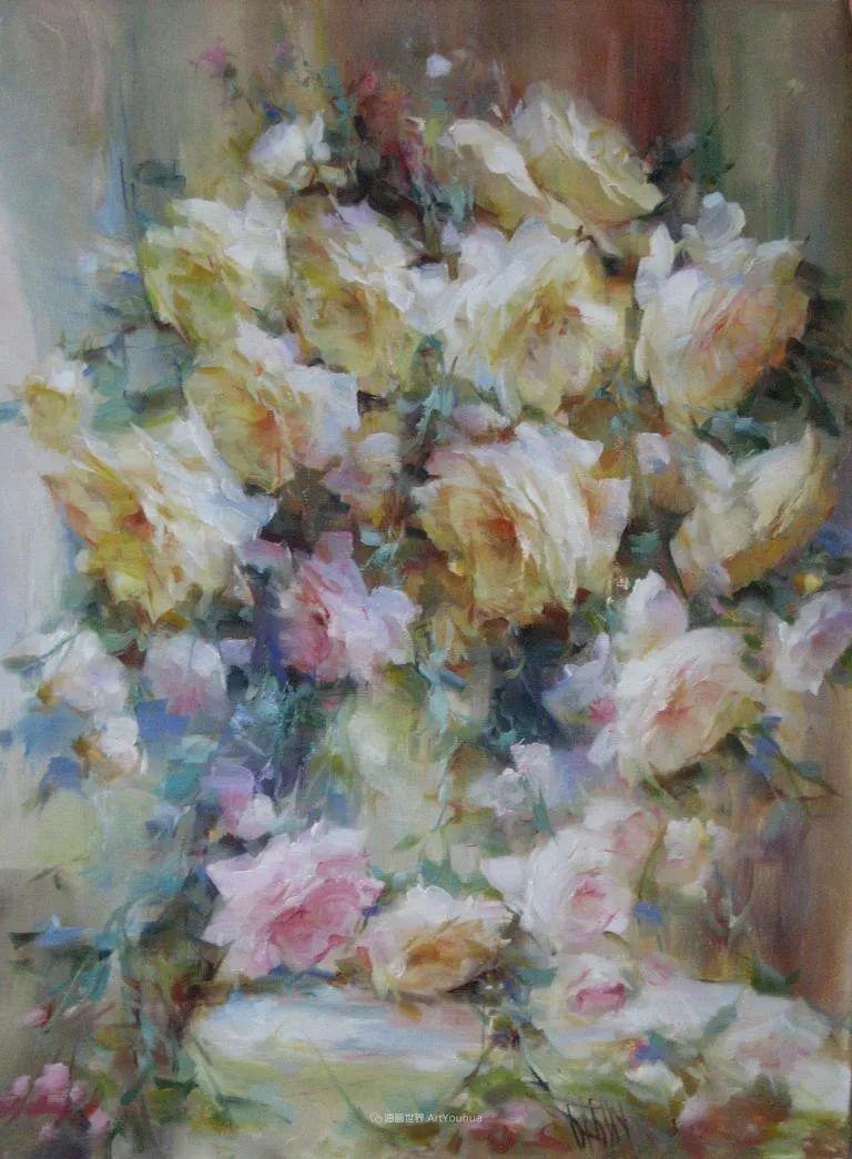 他绝对拥有绘画魔力,把花束画得如此之美插图69