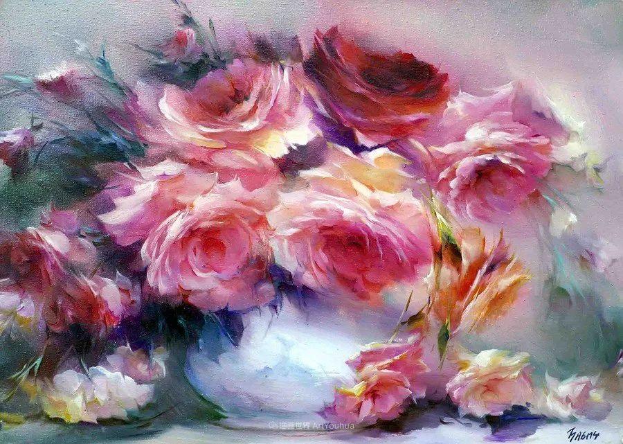 他绝对拥有绘画魔力,把花束画得如此之美插图79
