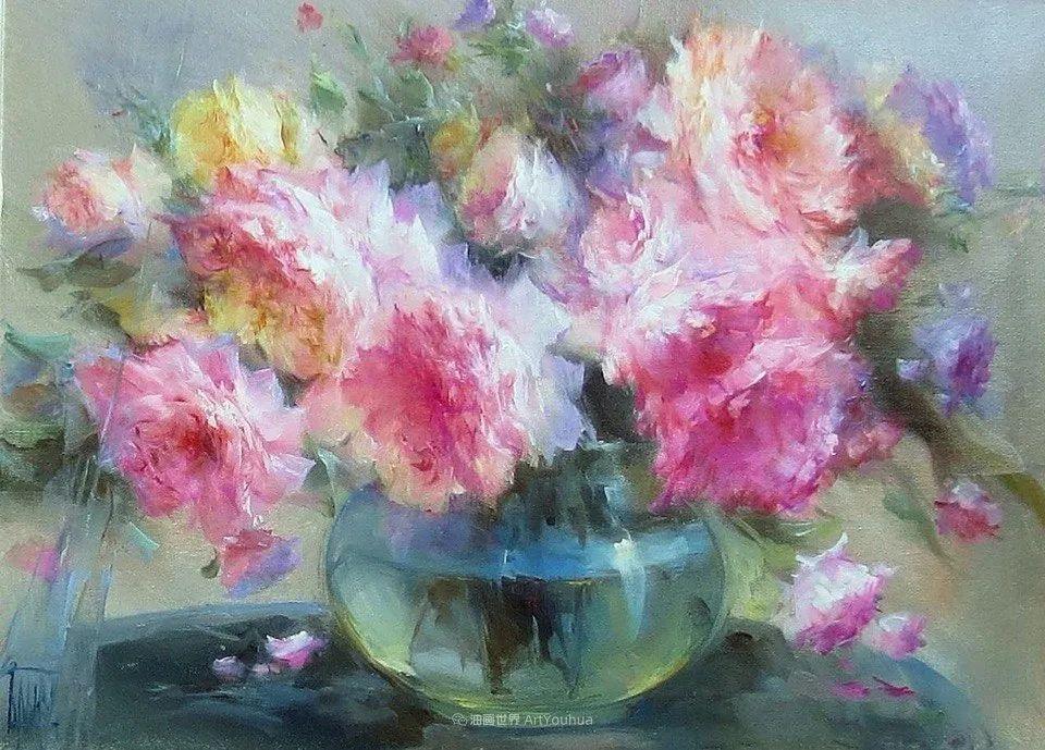 他绝对拥有绘画魔力,把花束画得如此之美插图83