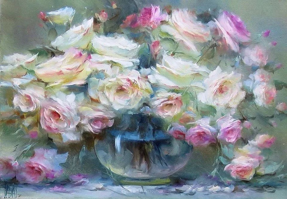 他绝对拥有绘画魔力,把花束画得如此之美插图85