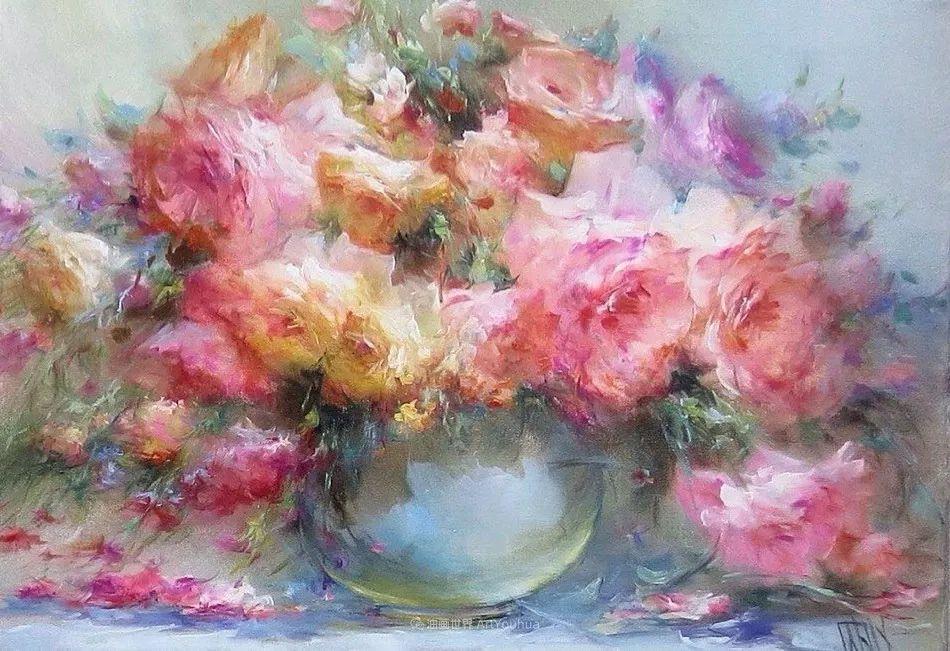 他绝对拥有绘画魔力,把花束画得如此之美插图87
