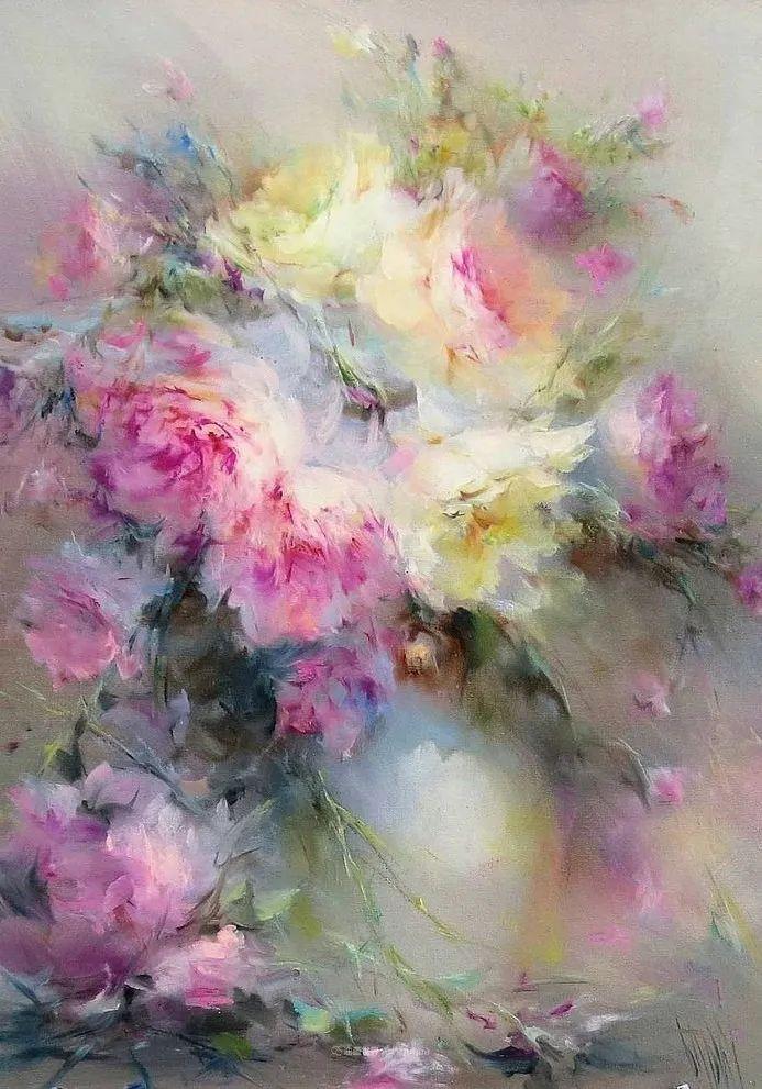 他绝对拥有绘画魔力,把花束画得如此之美插图89