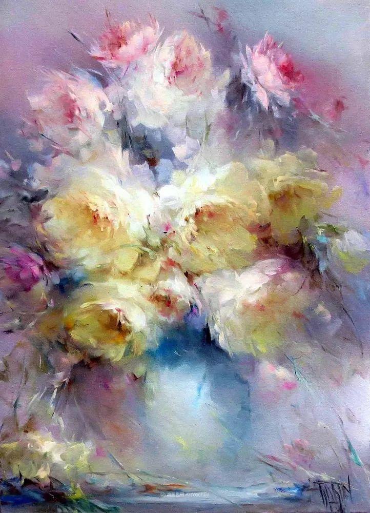 他绝对拥有绘画魔力,把花束画得如此之美插图93