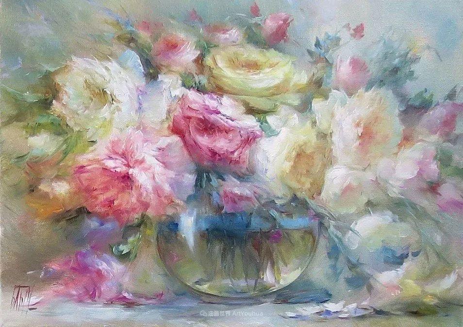 他绝对拥有绘画魔力,把花束画得如此之美插图95