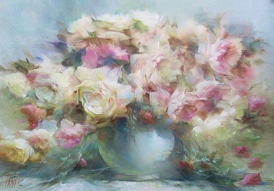 他绝对拥有绘画魔力,把花束画得如此之美插图97