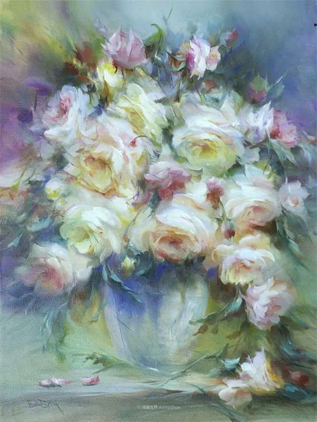 他绝对拥有绘画魔力,把花束画得如此之美插图101