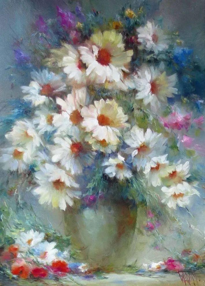 他绝对拥有绘画魔力,把花束画得如此之美插图103