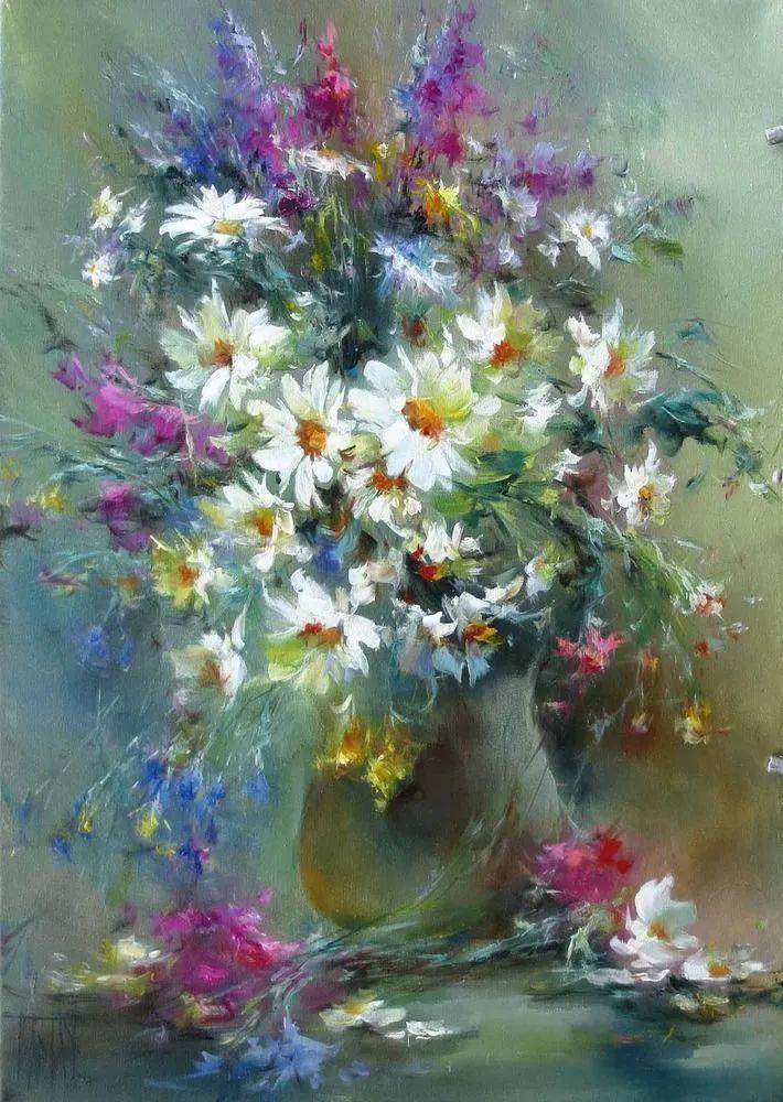 他绝对拥有绘画魔力,把花束画得如此之美插图105
