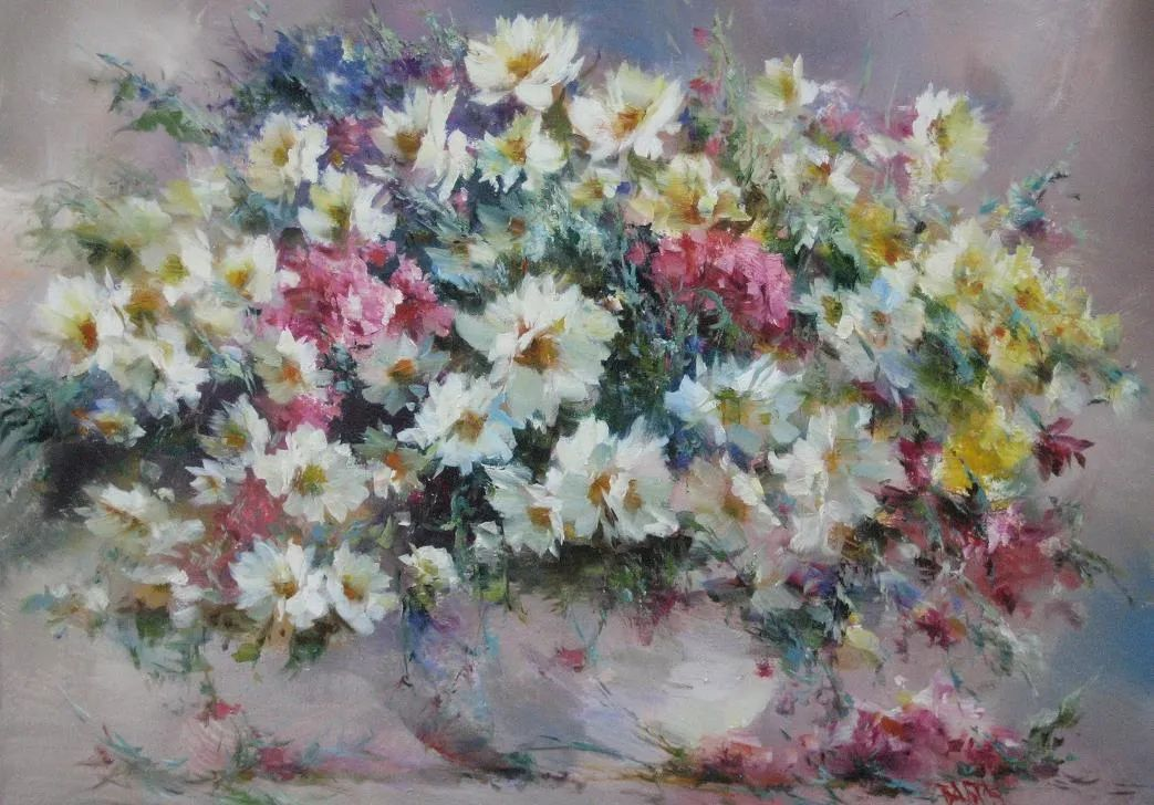 他绝对拥有绘画魔力,把花束画得如此之美插图107