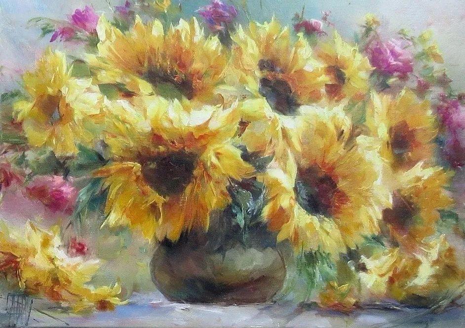 他绝对拥有绘画魔力,把花束画得如此之美插图111