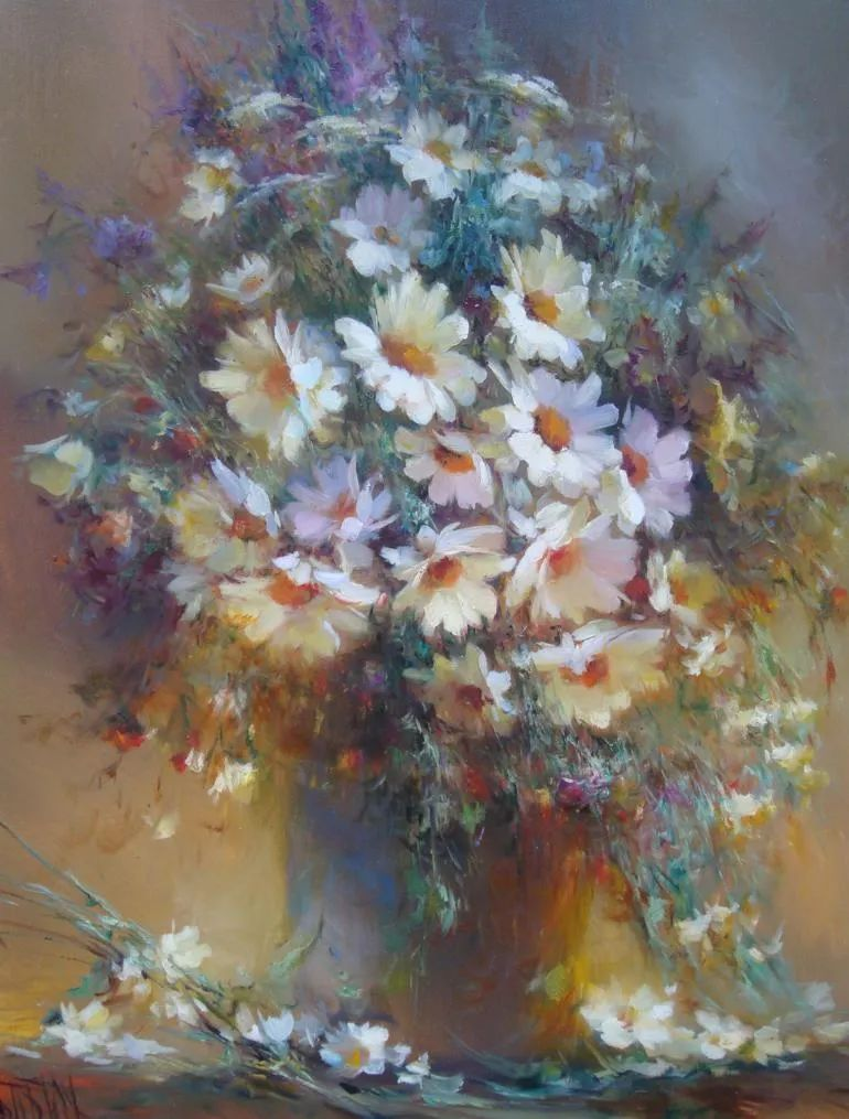 他绝对拥有绘画魔力,把花束画得如此之美插图117