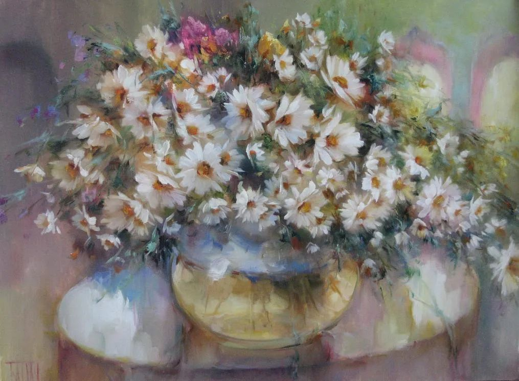 他绝对拥有绘画魔力,把花束画得如此之美插图121