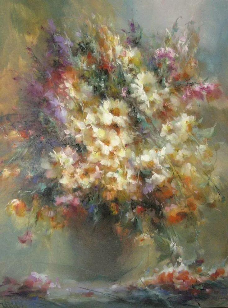 他绝对拥有绘画魔力,把花束画得如此之美插图123