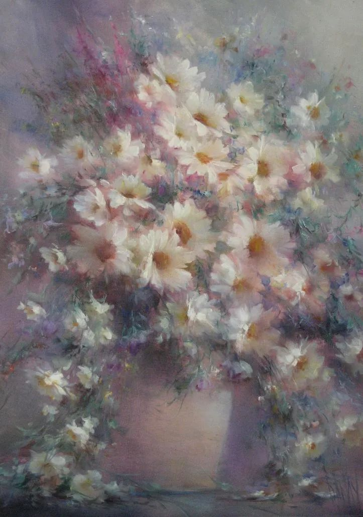 他绝对拥有绘画魔力,把花束画得如此之美插图125