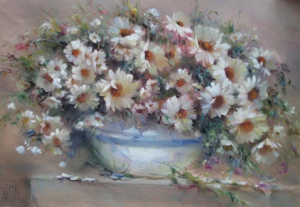 他绝对拥有绘画魔力,把花束画得如此之美插图127