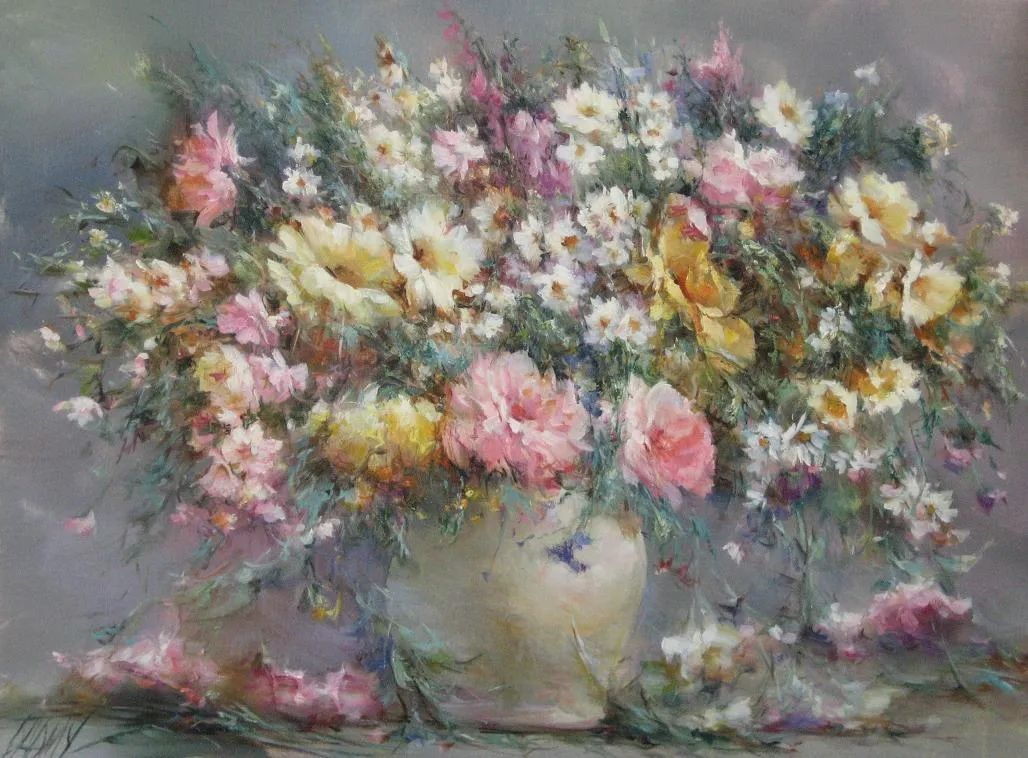 他绝对拥有绘画魔力,把花束画得如此之美插图129