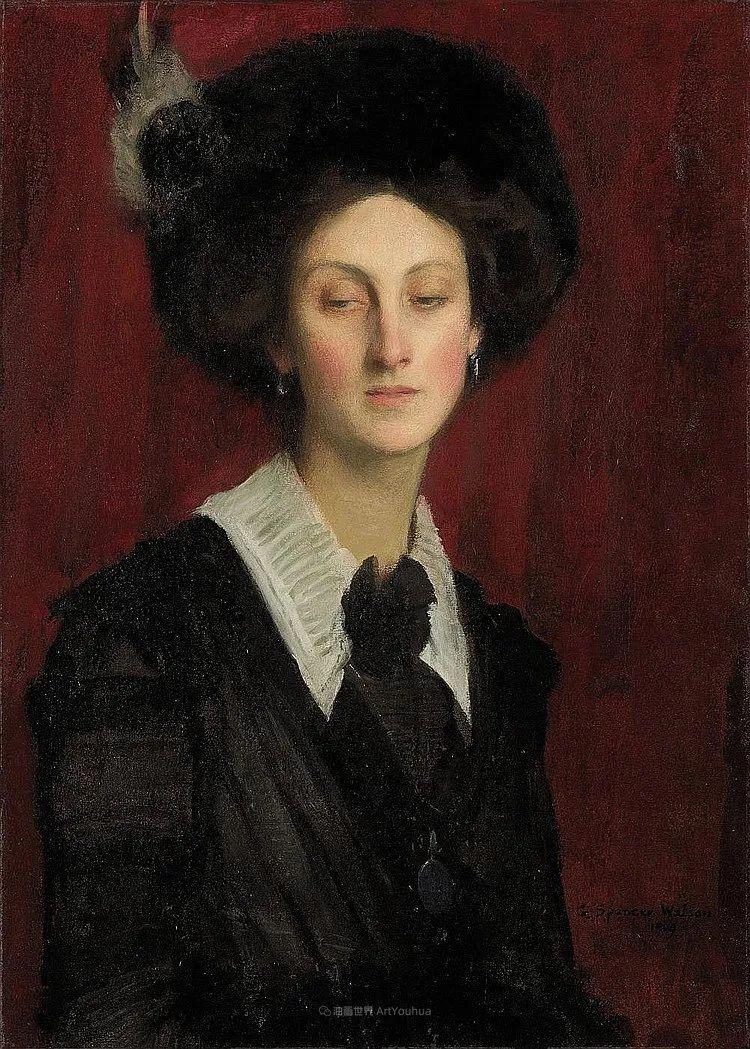 英国浪漫主义晚期肖像画家,皇家美术学院院士乔治·沃森插图5