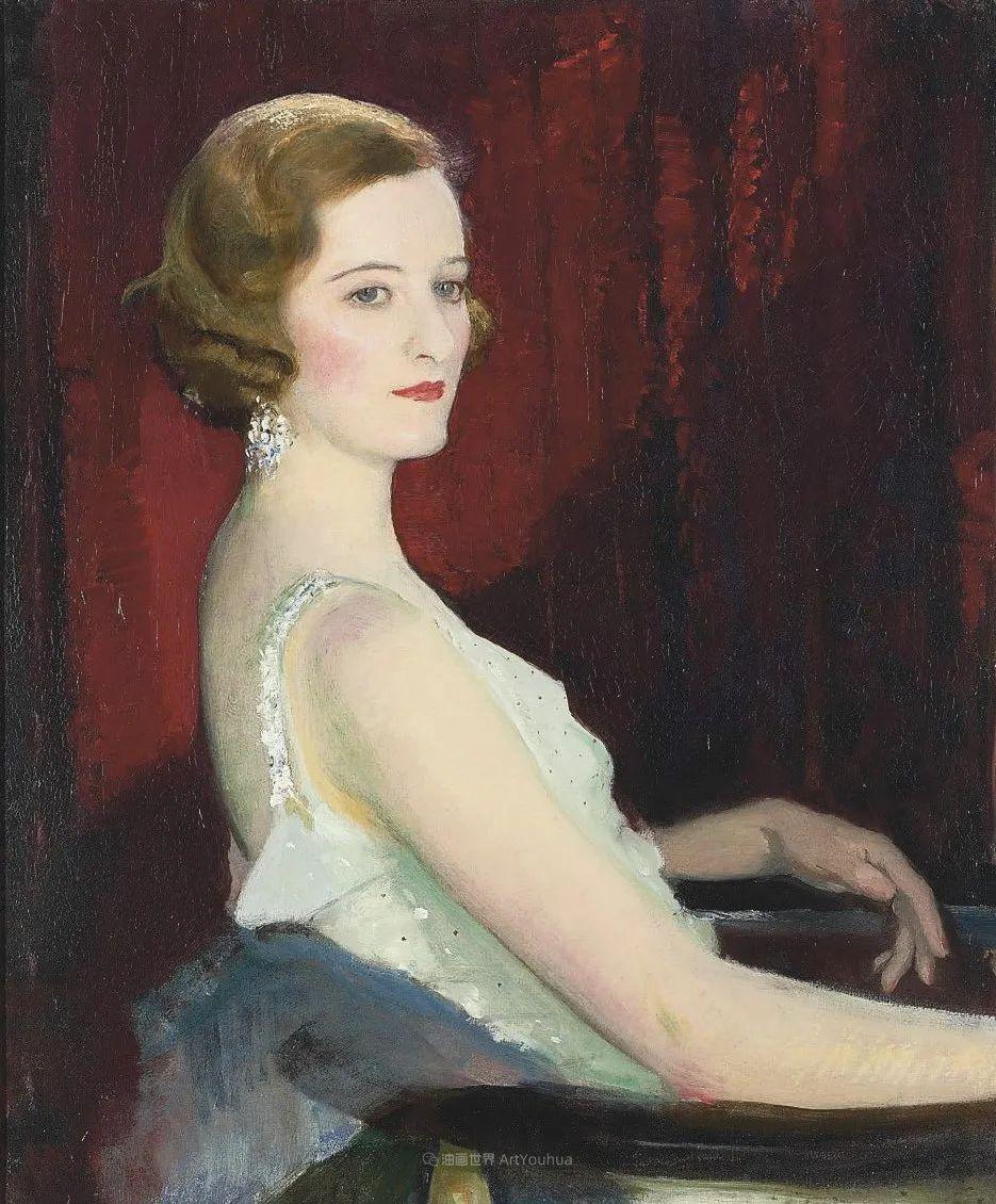 英国浪漫主义晚期肖像画家,皇家美术学院院士乔治·沃森插图11