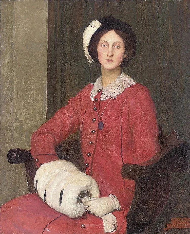 英国浪漫主义晚期肖像画家,皇家美术学院院士乔治·沃森插图13