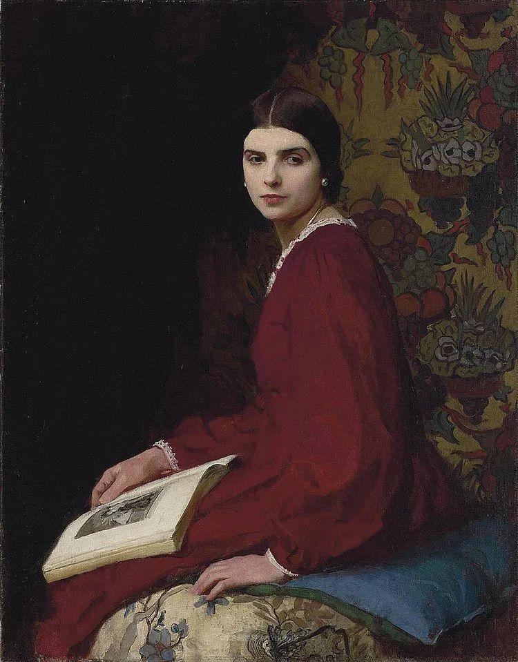英国浪漫主义晚期肖像画家,皇家美术学院院士乔治·沃森插图15