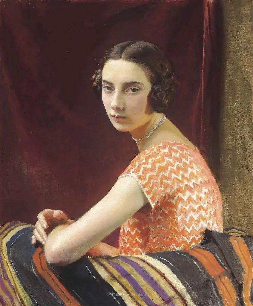 英国浪漫主义晚期肖像画家,皇家美术学院院士乔治·沃森插图17