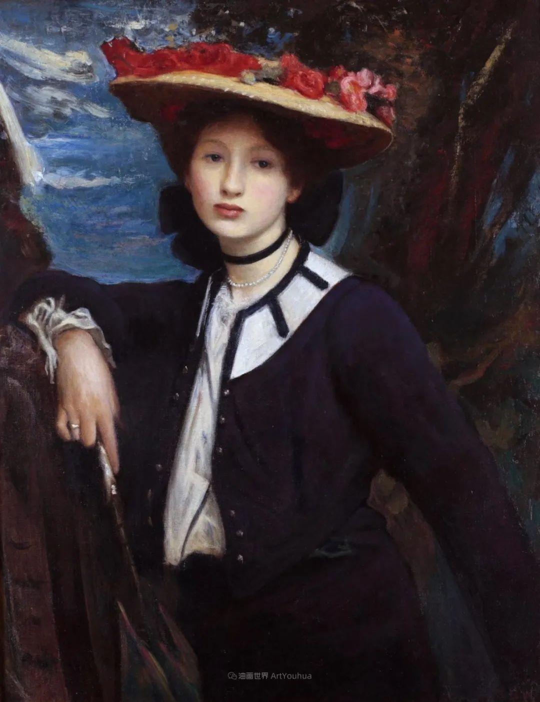英国浪漫主义晚期肖像画家,皇家美术学院院士乔治·沃森插图19