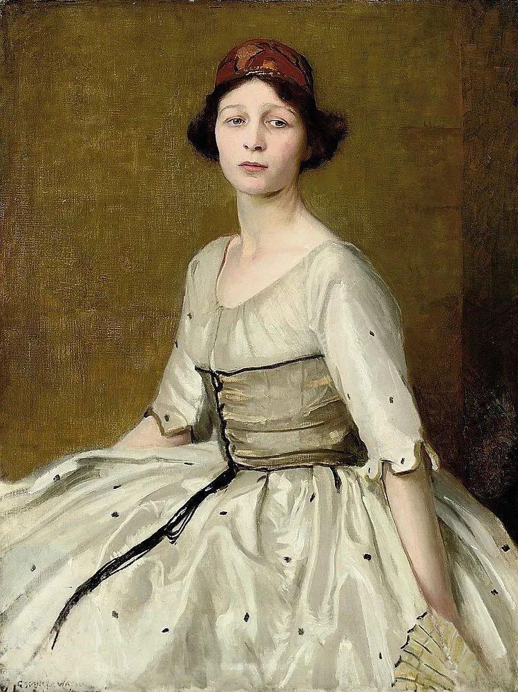 英国浪漫主义晚期肖像画家,皇家美术学院院士乔治·沃森插图23