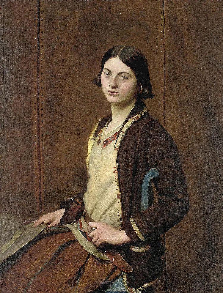 英国浪漫主义晚期肖像画家,皇家美术学院院士乔治·沃森插图25